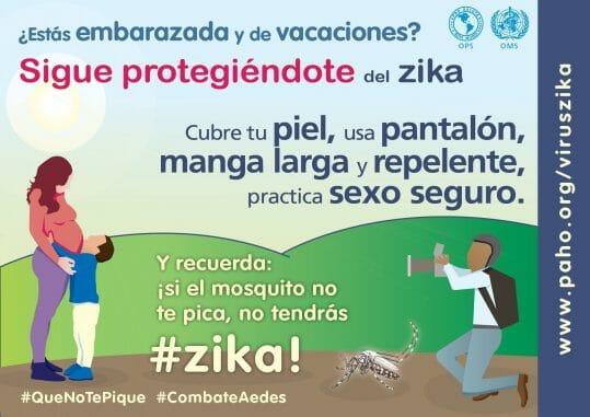 virus del zika en embarazadas